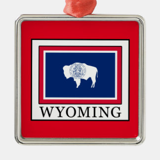 Wyoming Silbernes Ornament