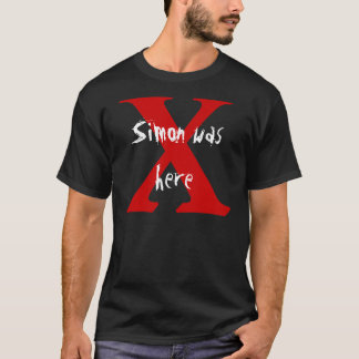 X, Simon war hier T-Shirt