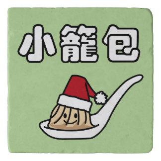 Xiaolongbao chinesischer Suppen-Mehlkloß Dim Sum Töpfeuntersetzer
