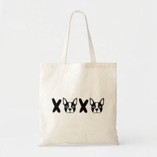 """""""XOXO"""" Boston Terrier-Taschen-Tasche Tragetasche"""