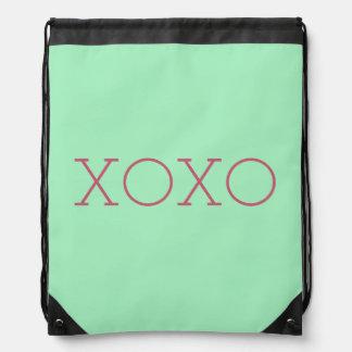 XOXO Drawstring-Rucksack Turnbeutel