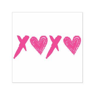 XOXO Herzen Permastempel