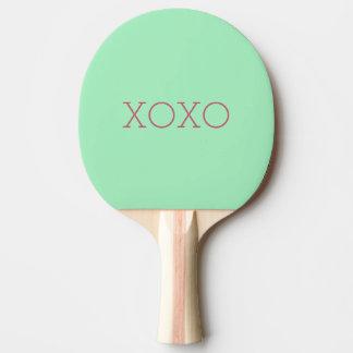 XOXO Klingeln Pong Paddel Tischtennis Schläger