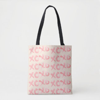 XOXO rosa Farben-Spritzer