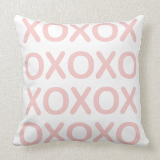 XOXO rosa Kissen