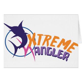 Xtreme-Angler Grußkarte