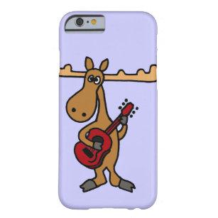 XX lustige Elche, die Gitarren-Cartoon spielen Barely There iPhone 6 Hülle