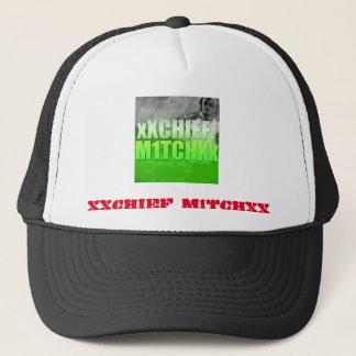 xXChief M1tchXx   Fernlastfahrer-Hut Truckerkappe