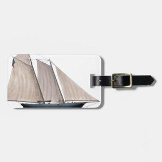 Yacht Amerika 1851 Kofferanhänger