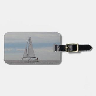 Yacht-Spatzen-Geschenke Kofferanhänger
