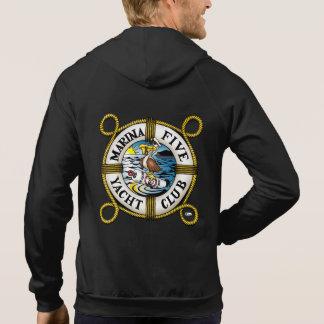 Yachtclub des Jachthafen-fünf Hoodie
