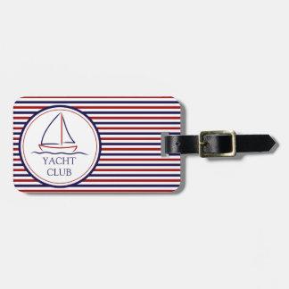 Yachtclub Gepäckanhänger