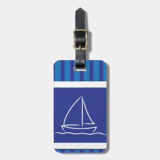 Yachtmuster Gepäckanhänger