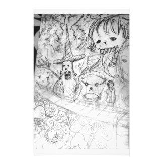 yaie Monster manga Anime Briefpapier