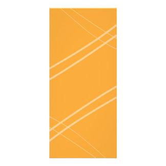 YellowOrangeInverted Crissed gekreuzt Werbekarte