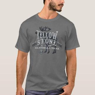 Yellowstone Nationalpark Elch-T - Shirtgrau T-Shirt