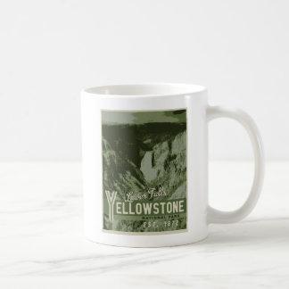 Yellowstone Nationalpark Plakat-Tasse Tasse