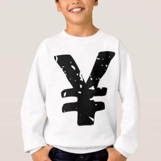 Yen-Symbol Sweatshirt