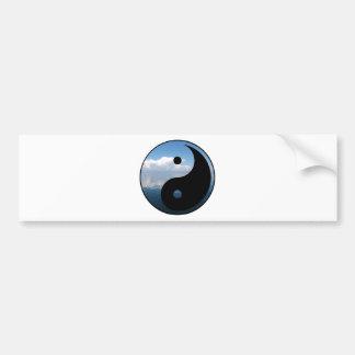 yin yang-1 autoaufkleber