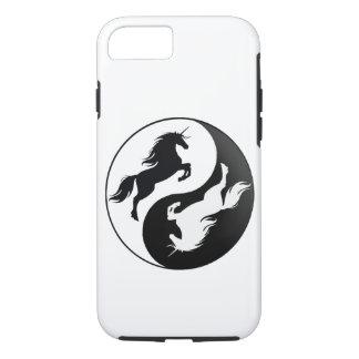 Yin Yang Einhorn iPhone 7 Fall iPhone 7 Hülle