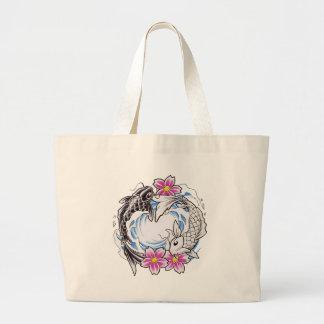 Yin Yang Geschenk Jumbo Stoffbeutel