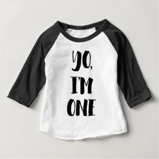 Yo, bin ich eins baby t-shirt