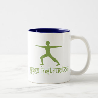 Yoga-Lehrer Zweifarbige Tasse
