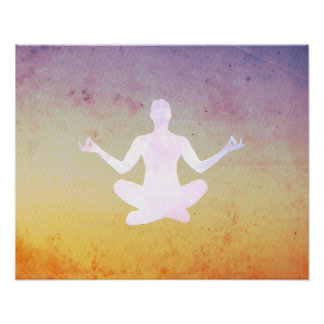 Yoga-Meditations-Pose Poster