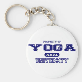 Yoga-Universität Schlüsselanhänger
