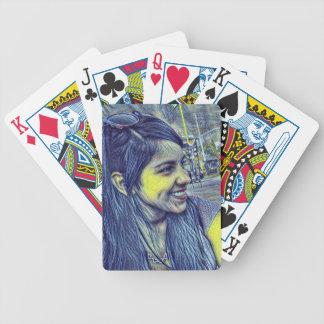 Yolanda recuerdo Daniel-Stern Bicycle Spielkarten