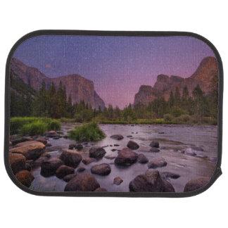 Yosemite Nationalpark an der Dämmerung Autofußmatte