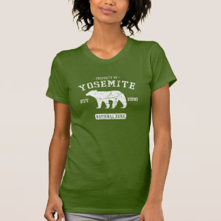 Yosemite Nationalpark niedliches Bärn-T-Shirt T-Shirt