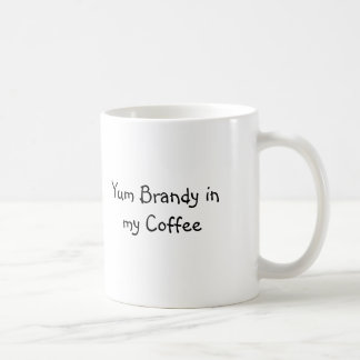 Yum Weinbrand in meinem Kaffee Tasse