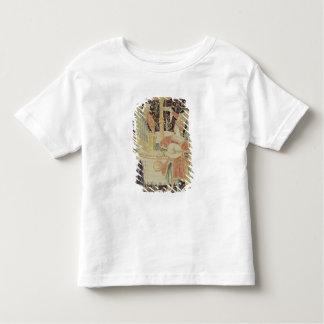 Zahlen um einen Brunnen Kleinkinder T-shirt