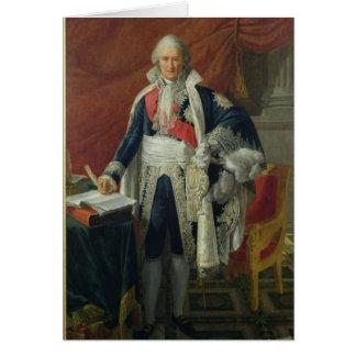 Zählung Jean-Etienne-Marie Portalis 1806 Karte