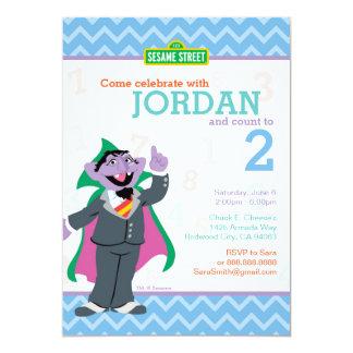 Zählung von Count Birthday 12,7 X 17,8 Cm Einladungskarte