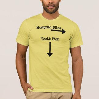 Zahn-Auswahl, Moskito-Bisse T-Shirt