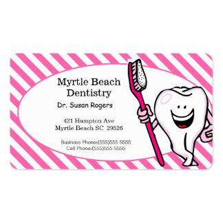 Zahnarzt-Geschäfts-und Verabredungs-Karte Visitenkarten