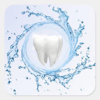 Zahnarzt-medizinischer Zahn beruflich - Aufkleber