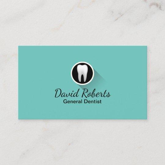 Zahnarzt Modernes Zahn Logo Beruflicher Zahnpflege