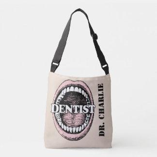 Zahnarzt-Nametaschen Tragetaschen Mit Langen Trägern