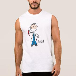 Zahnarzt-Strichmännchen Ärmelloses Shirt
