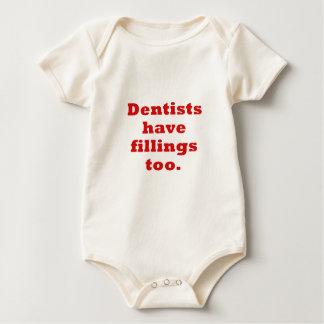 Zahnärzte haben Füllungen auch Baby Strampler