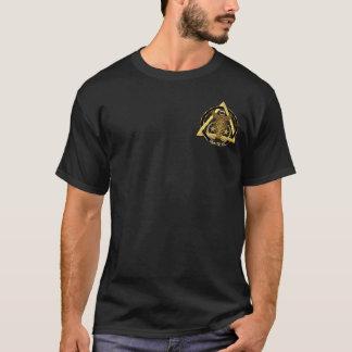 Zahnmedizinische Logo-Künstler-Konzept-Ansicht T-Shirt