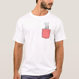 Zahnmedizinischer Taschen-T - Shirt