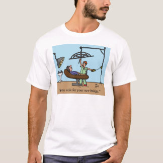 zahnmedizinisches Brückenspaßt-shirt T-Shirt