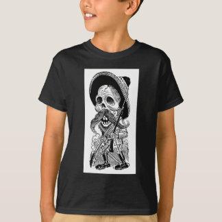 Zapatista Calavera. c. frühes 1900's. Mexiko T-Shirt