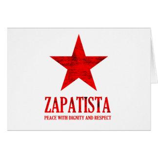 Zapatista Frieden Karte