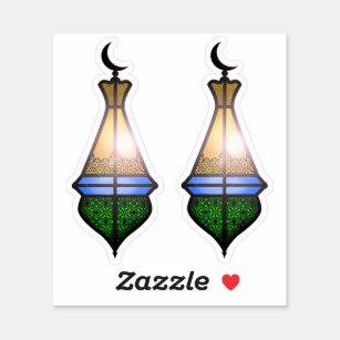 Magische Lampe Aufkleber | Zazzle.at