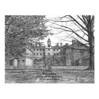 Zaunkönig-Gebäude Postkarte